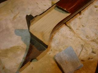 破損糸倉の除去(2)