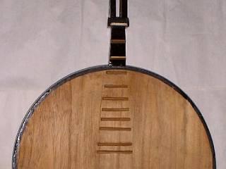 古い中国月琴胴体