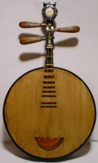 古い中国月琴