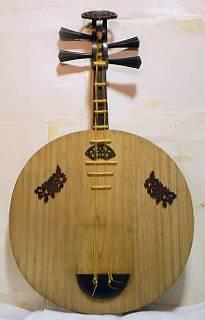 明清楽月琴