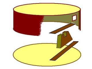 ベトナム月琴内部構造