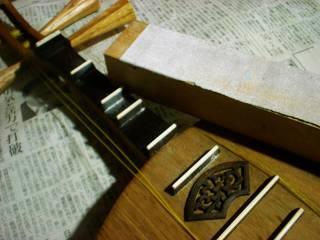 フレット削り(1)