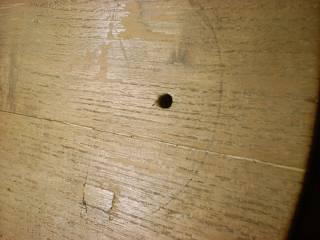 表板修理(2)ヒビ再発