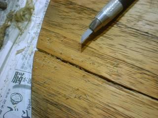 表面板ひび割れ(4)