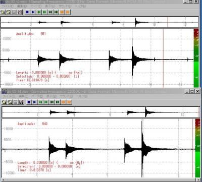 響き線実験