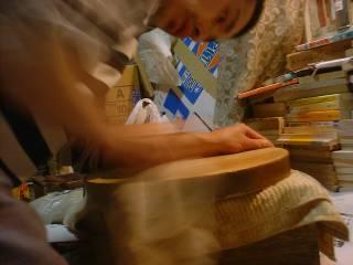 表板磨き(2)