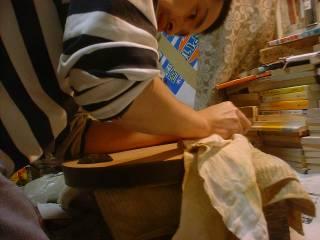 表板磨き(1)